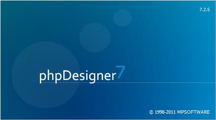 phpDesigner 7.2.5